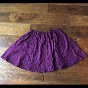 Suede Mini Skirt (Brandy Melville)